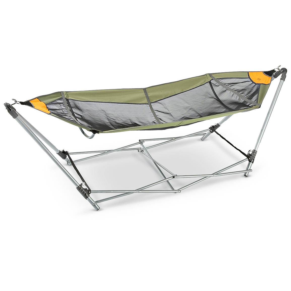Guide Gear Portable Folding Hammock Yoder Tools