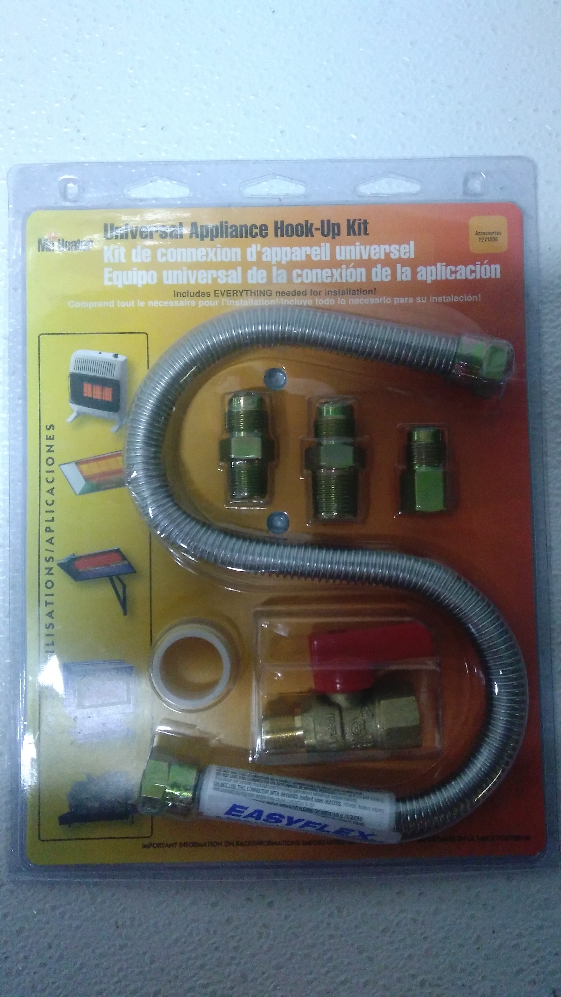 Mr Heater Universal Gas Connection Kit Model F271239