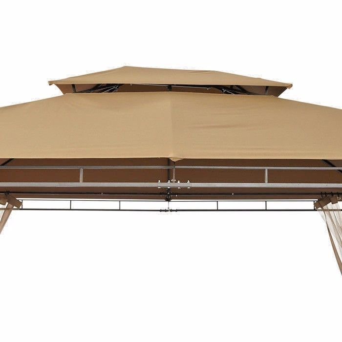Deluxe Patio Gazebo Tent 10ft X 12ft Yoder Tools