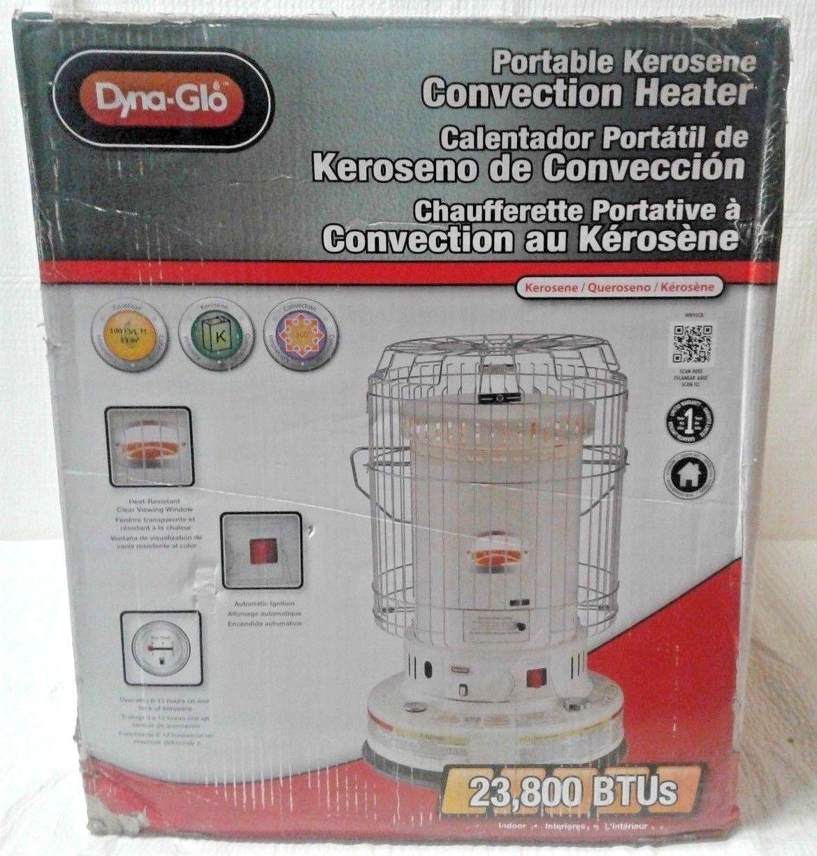 Dyna Glo Indoor Kerosene Convection Heater 23 800 Btu 1000
