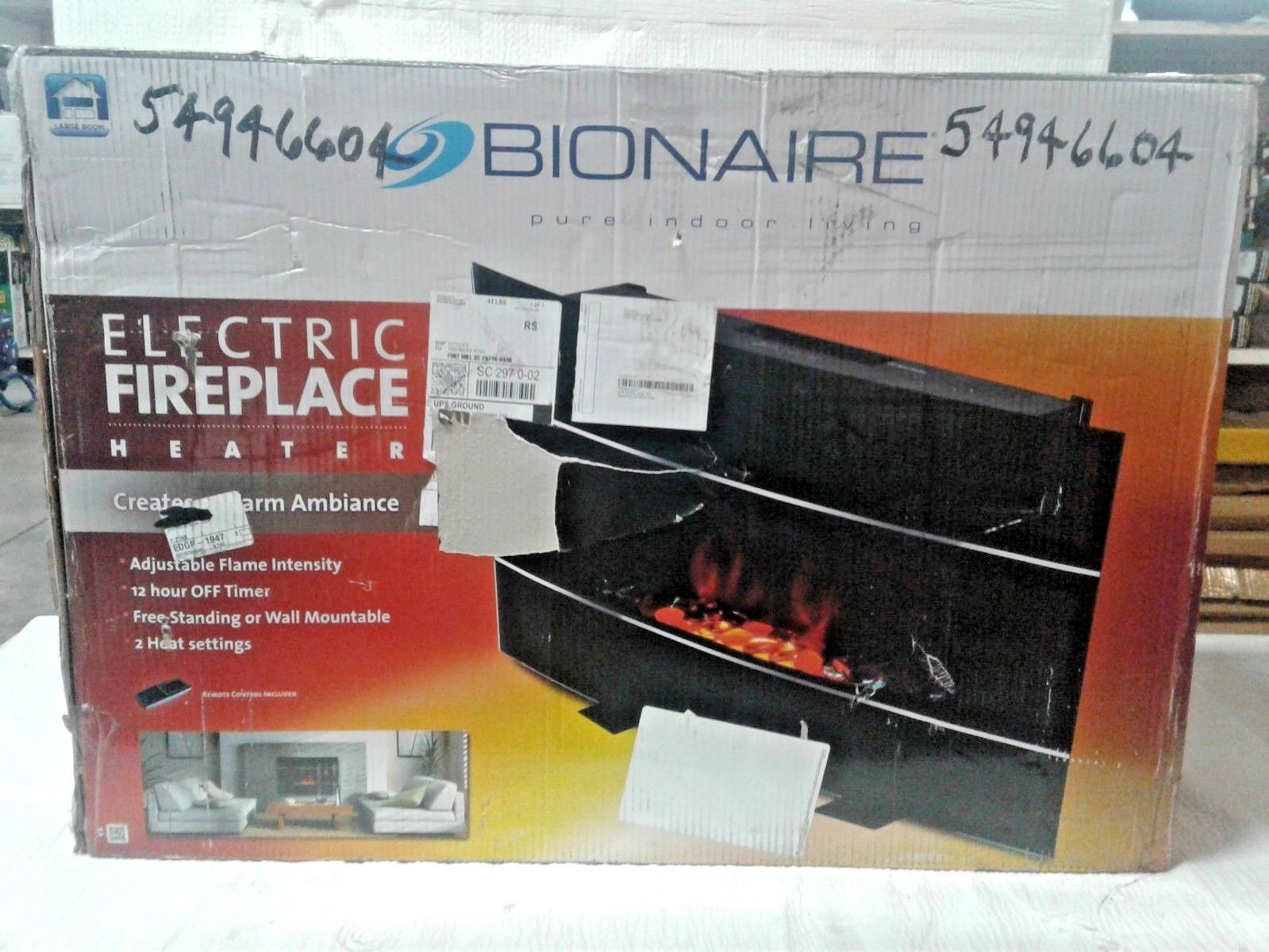 Sensational Bionaire 1500W Electric Fireplace Heater Insert Download Free Architecture Designs Barepgrimeyleaguecom
