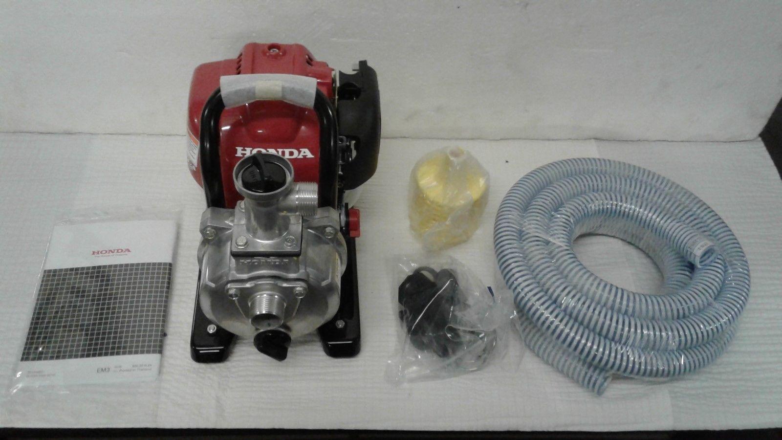 Honda Self-Priming Water Pump- 2220 GPH, 1in  Ports, 25cc Honda GX25  4-Stroke