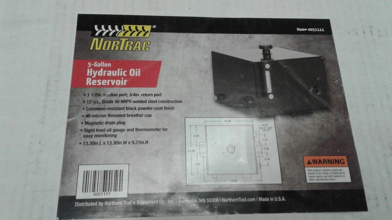 Steel Hydraulic Oil Tank — 4 8 gallon