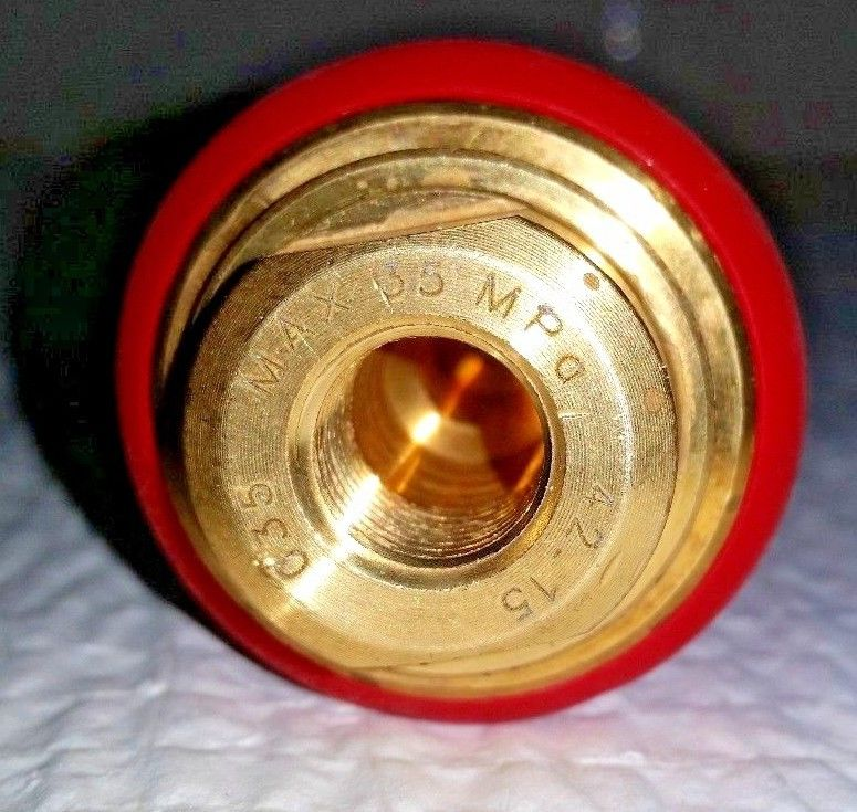 Cat Pumps Rotating Turbo Nozzle — 3 5 Orifice, 5100 PSI, Model# 7632 35
