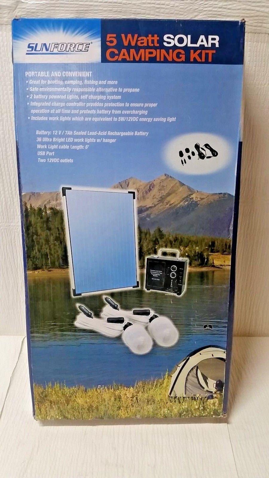 NPower 5 Watt Solar Camping Kit