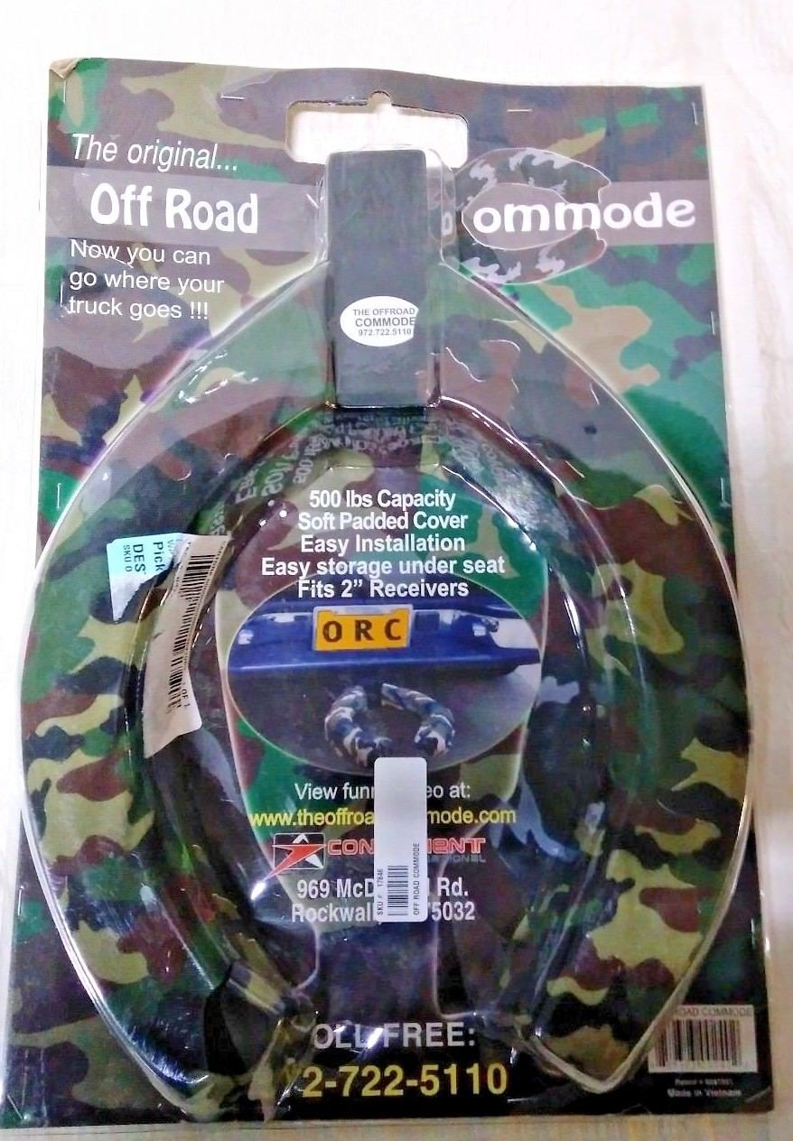 Off Road Commode Trailer Hitch Toilet Seat Yoder Tools