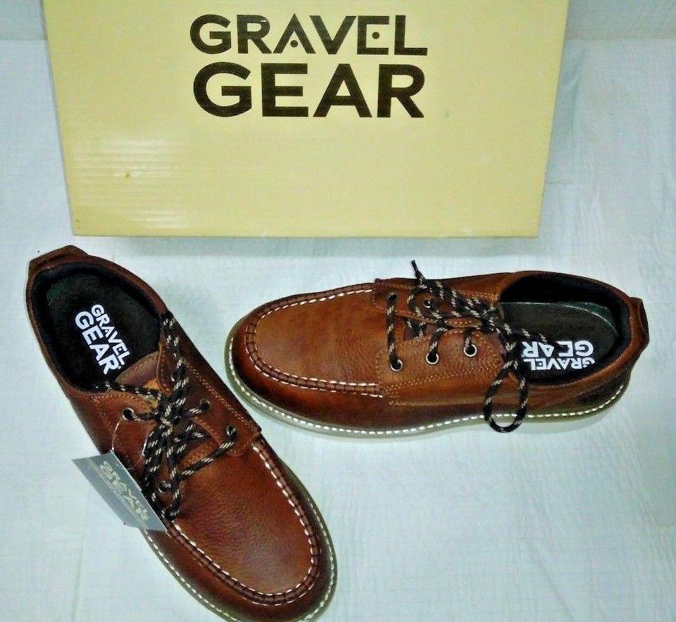 Gravel Gear Men's 4in. Moc Toe Oxford